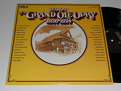 STAR OF GRAND OLE OPRY NM- 2 LPS Kitty Wells Dolly Parton Skeeter Carter family