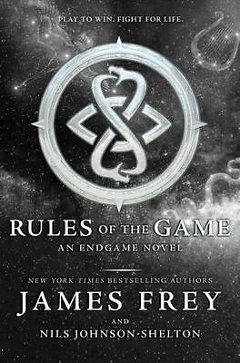 Rules of the Game by James Frey Book Endgame Series 3 Hardcover Hardback