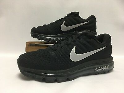 Nike Air Max 2017 Athletic Running Shoes 849559-001 Black Anthracite Men's  NEW