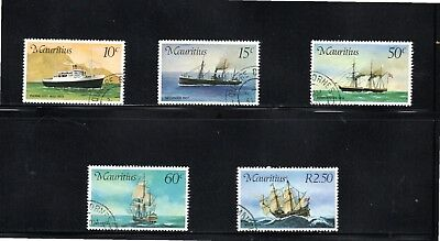 Mauritius 1976 Mail Carriers to Mauritius SG 501/5 CTO