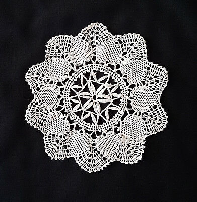 Vintage Lace Doiley, Exquisitely Handmade ~ Would Look Beautiful Framed