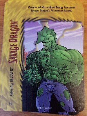 Marvel Overpower Image Savage Dragon Freak Force NrMint-Mint Card