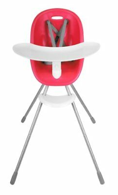 NEW phil&teds Poppy Highchair Cranberry FREE SHIPPING