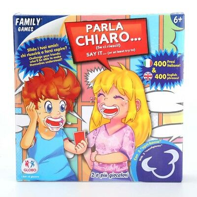 Speak Out Game Board Party Mouth Piece Challenge Family Kids Fun Gift Uk Stock