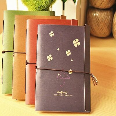 Planner Notes Retro New Vintage Mini Pocket Durable Notebook Travel Memo Paper