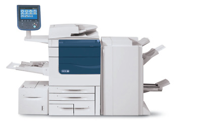 Xerox Color C560 Graphics quality Printer - Booklet Finisher - Paper Deck