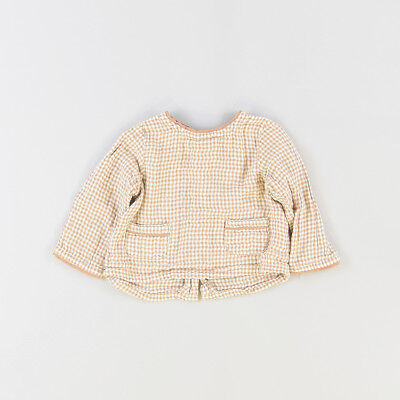 Blusa color Marrón marca Zara 3 Meses  211342