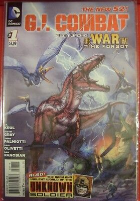 G.i. Combat 1-7 Dc Comic Set Complete Gi Unknown Soldier War Time Forgot 2012 Nm