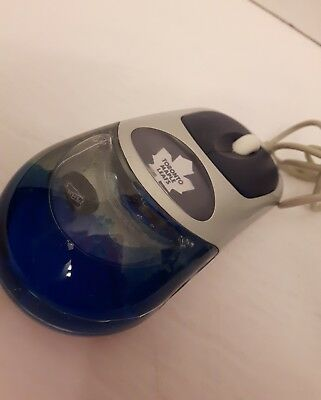 Toronto Maple Leafs mouse not wireless great vintage collectable item