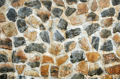 DIGITAL PHOTO PICTURE IMAGE WALLPAPER SCREENSAVER DESKTOP - Stone Wall #01