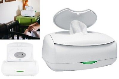 Prince Lionheart Ultimate Wipe Warmer Station Organizer, Baby Diaper Towel White