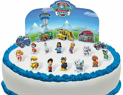 Cakeshop PRE-CUT Paw Patrol Edible Cake Scene - 18 pieces