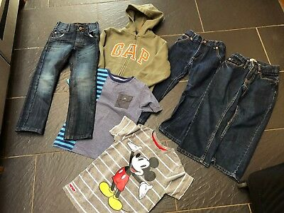 Ted Baker Gap Disney Next St George Jeans T-Shirt Hoodie 4-5 Years Bundle (K)