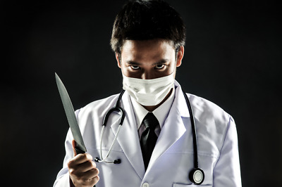 DIGITAL PHOTO PICTURE IMAGE WALLPAPER SCREENSAVER DESKTOP - Doctor Killer #P4