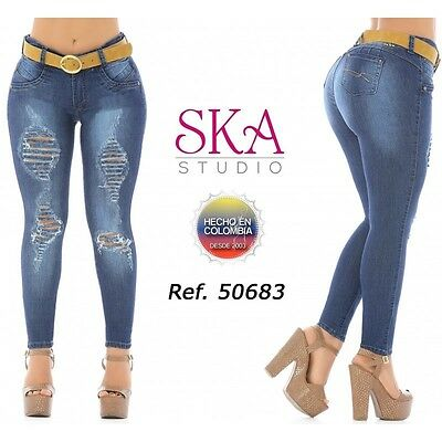 SKA Authentic Colombian Push Up Jeans, Jeans Colombianos, Jeans Levanta Cola