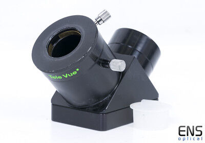 """TeleVue Everbrite 2"""" 90° Star Diagonal With 1.25"""" Compression Ring"""