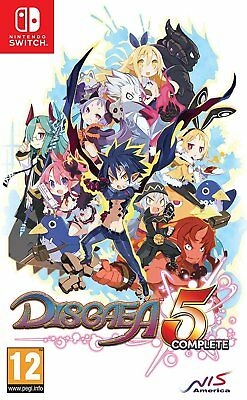 Disgaea 5 Complete (Nintendo Switch) BRAND NEW SEALED