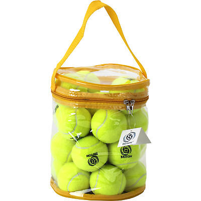 Briton Tennis Balls, Includes Mesh Carrying Bag, Available In Package Of 24