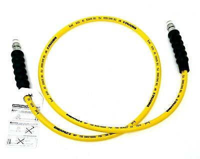 New ENERPAC H7206 Hydraulic Hose, Thermoplastic 6 FT 3/8 NPT 1/4
