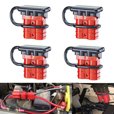 4X BATTERY QUICK Connect Disconnect Tool Winch Electrical Wire ... on winch pulley kit, winch remote control kit, winch controller kit, winch relay kit, winch accessories kit,