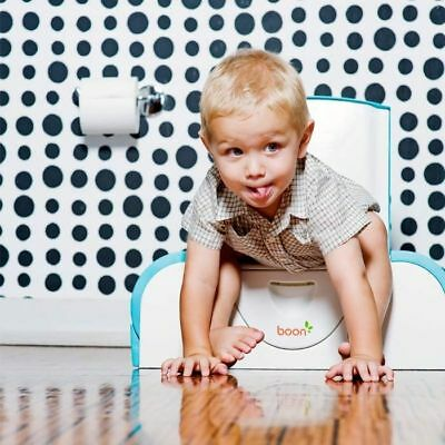 BOON Potty Bench, Kindertoilette, Trainingstoilette, Sitzbank, Tritthocker
