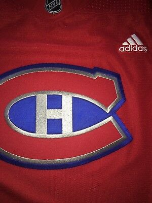 Montreal Canadiens Pro Stock Adidas NHL 100 Classic Game Worn Practice  Jersey 56 9dfad28a4