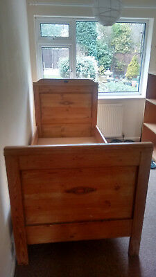 Pair of Antique Dutch Pine Beds in excellent condition *Price drop*