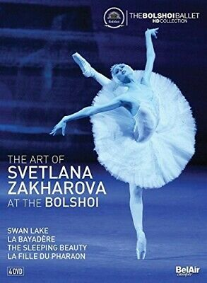 Art Of Svetlana Zakharova At The Bolshoi (2017, DVD NIEUW)4 DISC SET