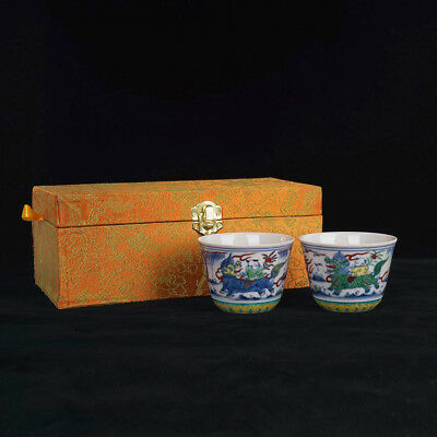 Wonderful Rare Chinese Antique Rare Porcelain Famille Rose Cup Marked ChengHua