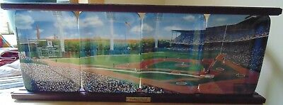 Forbes Field-Danbury Mint-Four Plate Panoramic Collection-