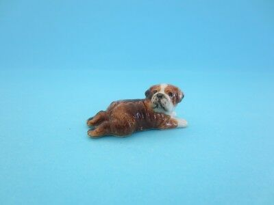 "Little Critterz Dog ""winston"" British Bulldog *mint Condition*"