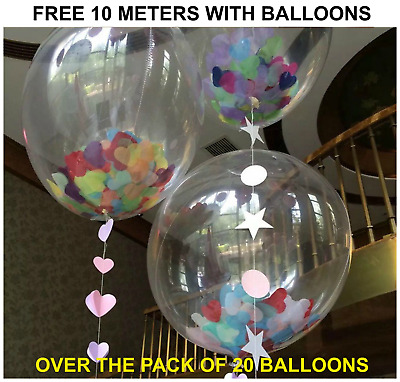 "LARGE PLAIN 10"" BALLOONS BALLONS helium BALLOONS Quality Bday Wedding BALOON"