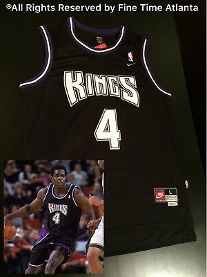 NEW Chris Webber Sacramento Kings Men s Home Throwback Jersey Mitch Richmond 102831dea