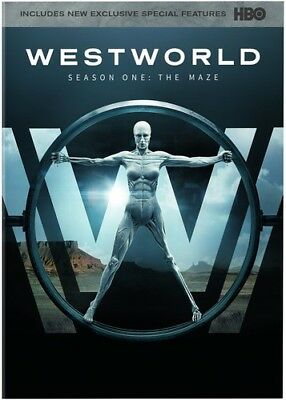 Westworld: The Complete First Season (2017, DVD NIEUW)
