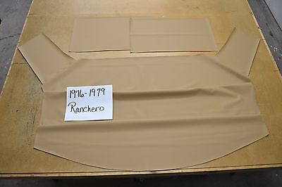 1976 76 1977 77 1978 78 1979 79 FORD RANCHERO BRIGHT RED HEADLINER USA MADE