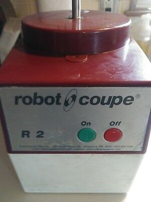 robot coupe R2 base and bowl with blade and cover