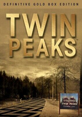 Twin Peaks: The Definitive (Gold Box Edition) (2017, DVD NIEUW)10 DISC SET