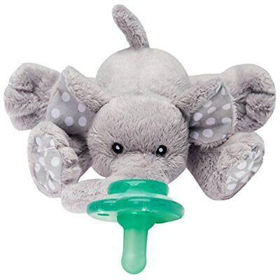 Paci Plushies Elephant Buddies  Pacifier Holder Plush Toy Detachable Pacifiers