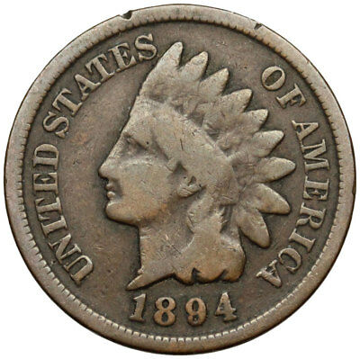 1894 Indian Head Cent - Semi-Key Date - Price Per Coin