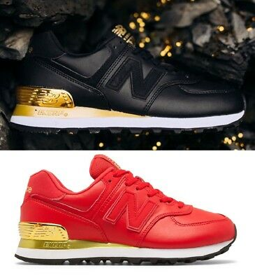 best sneakers 71383 bc43c ... Women s New Balance 574 Gold Dip Sneakers Lifestyle Comfort Shoes ...