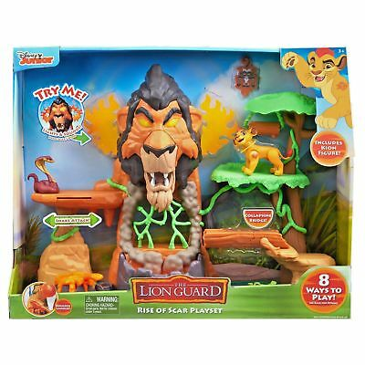 Just Play Lion Guard The Rise of Scar Play Set 3+ New