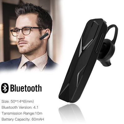 Bluetooth Wireless Noise Cancelling Trucker Headset Earpiece For Driving Sport