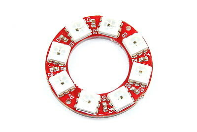 Keyes 8 LED Ring WS2812 5050 RGB Modul md-313 Arduino Flux Workshop