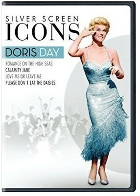 Silver Screen Icons: Doris Day (2017, DVD NIEUW)4 DISC SET