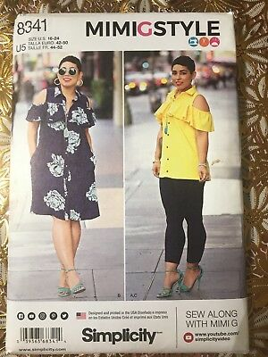 Simplicity 8341 Misses/' Dress Top and Leggings    Sewing Pattern