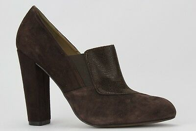8a85b5e75083 ISOLA WOMEN S BROWN Suede Leather Snake Print Tawen Pumps Size 8.5 ...