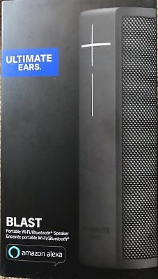 UE Ultimate Ears BLAST Alexa-Enabled Waterproof Smart Speaker Black*BRAND NEW*