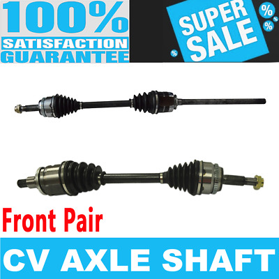 Front CV Joint Axle Shaft Pair Set For TOYOTA HIGHLANDER 2001-2005