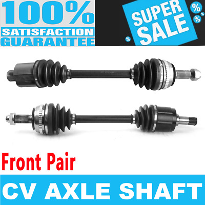 Front Pair CV Axle Assembly for ACURA TL 95-98 L5 2.5L 2451cc