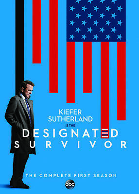 Designated Survivor: Complete Season 1 (2017, DVD NIEUW)2 DISC SET